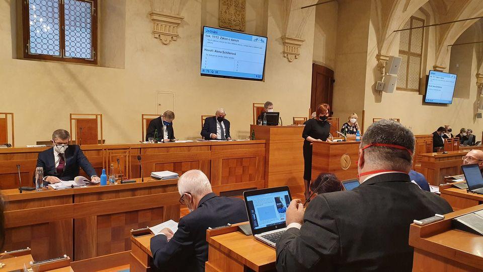 Senát opravil poslanecký daňový balíček