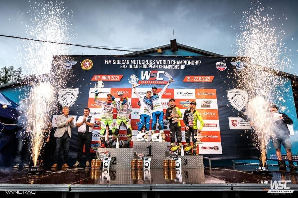 Světový sidecarcross v Jiníně