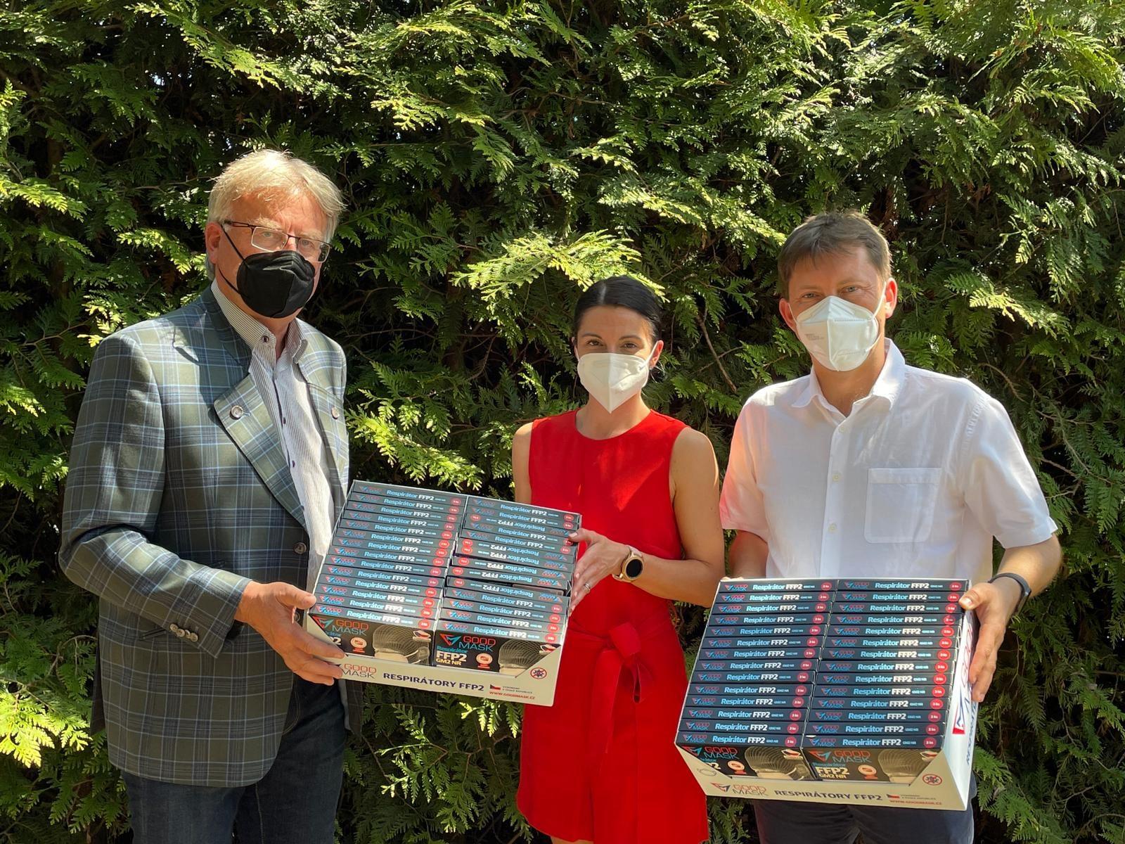 S respirátory na Vodňansko